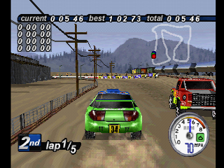 Screenshot Thumbnail / Media File 1 for Rally Cross 2 [U]